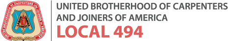 Carpenters Local 494 logo